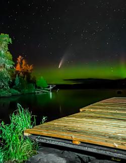 Comet Neowise & Aurora 1