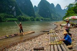 Guilin River Raft Construction