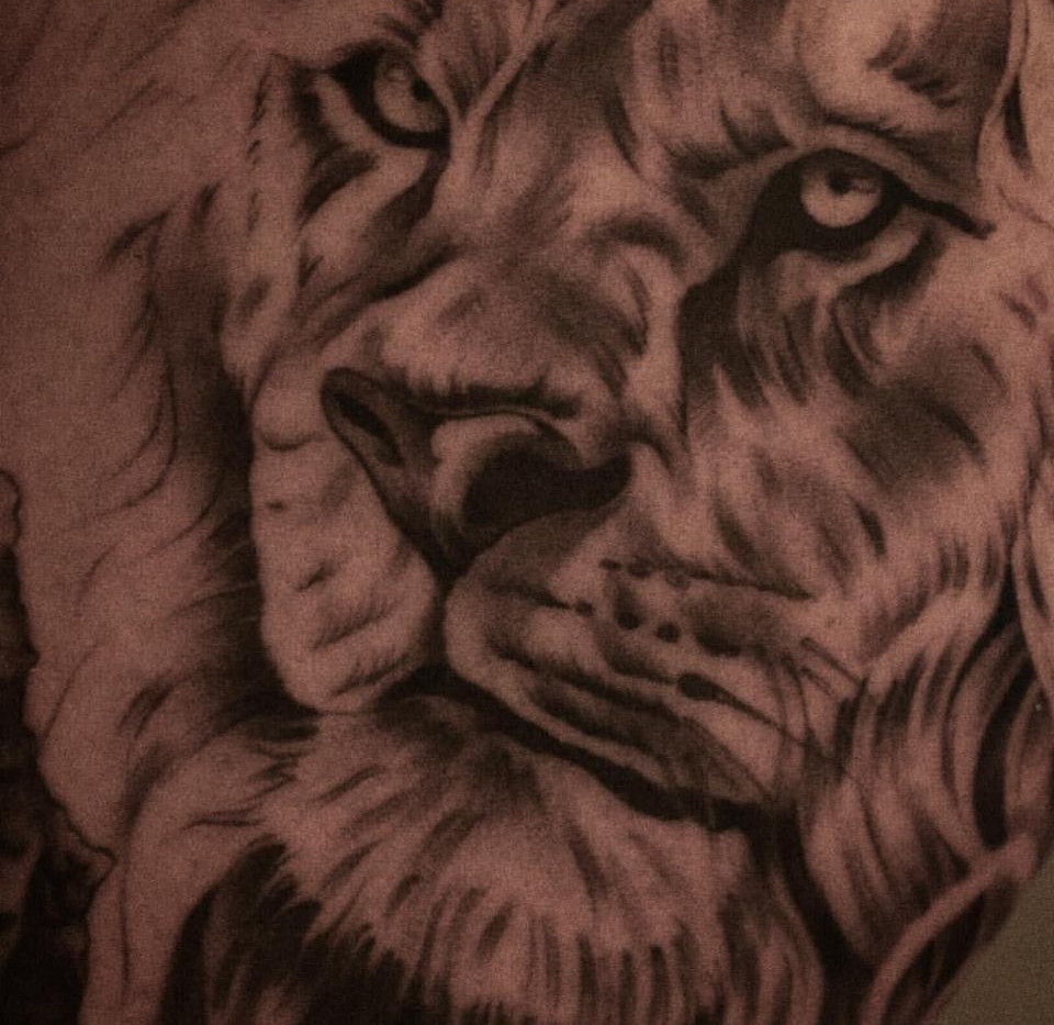 King of the jungle - Lion Tattoo