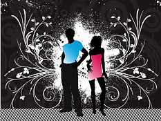 male_and_female_figures_silhouette_with_