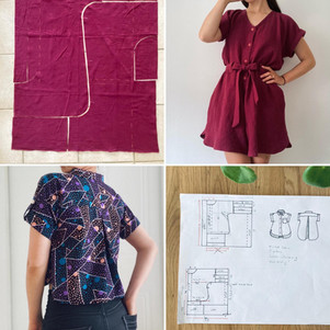 Zero Waste Sewing Advice for Beginners + @duckgoesoink's DIY Process