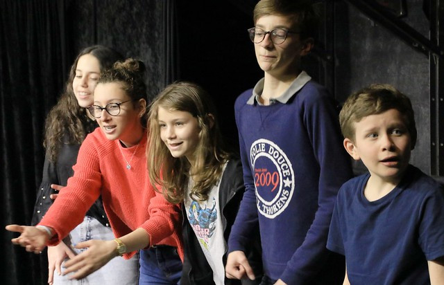 Portes Ouvertes de l'Ecole Paris Marais Section 12-14 ans du Samedi