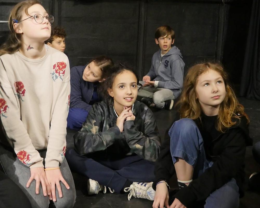 Portes Ouvertes du 4/03/20 Section Théâtre 10/12 ans de l'Ecole Paris Marais