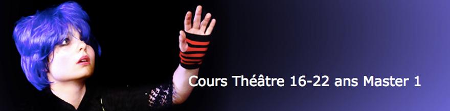 Cours de théâtre ados 16-22 ans avancé Master classe - Ecole Paris Marais au Théâtre Espace Marais = Formation d'acteur enfants ados adultes Stages découvertes de cours de théâtre et de cinéma -  - Ecole Paris Marais - 22 rue Beautreillis - 75004 Paris -01.48.04.09.05.57.