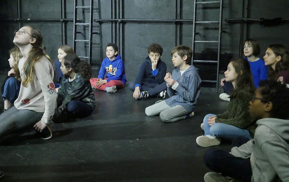 Portes Ouvertes de l'Ecole Paris Marais Section Théâtre 10/12 ans du 4/03/20