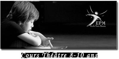 Cours Theatre 8-10-ans