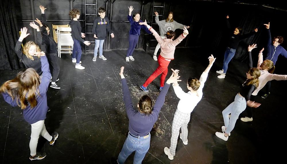 Portes Ouvertes Section Théâtre 12/14 ans Ecole Paris Marais
