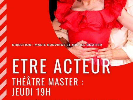 Les Master du jeudi jouent sur scène au Théâtre Espace Marais