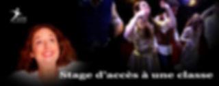 Stages d'accès à une classe de théâtre ou/et de cinéma adultes-ados - Ecole Paris Marais - 22 rue Beautreillis - 75004 Paris -01.48.04.09.05.57.