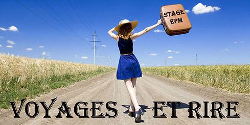 Stage de théâtre Vacances ados 13-18ans - Voyages et Rires - Ecole Paris Marais au Théâtre Espace Marais - 22 rue Beautreillis - 75004 Paris -01.48.04.09.05.57