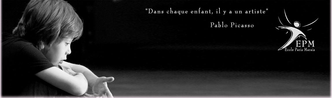 Théâtre 8-10 ans Ecole Paris Marais