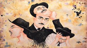 N'être qu'un… est une prison « écrit Fernando Pessoa ! Voilà pourquoi j'aime partager la vie… La vie sur scène… Avec les élèves acteurs