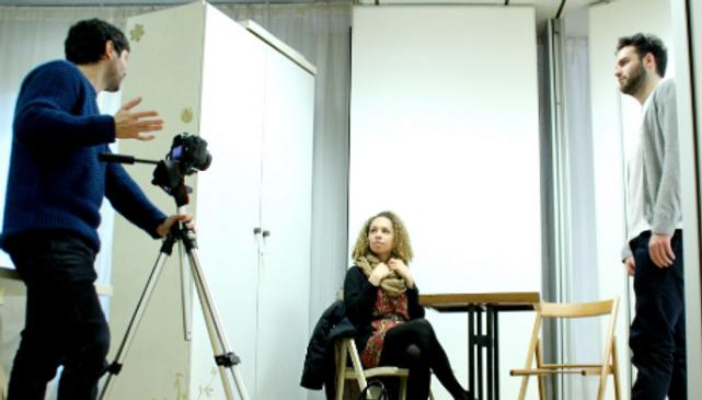 Ecole Paris Marais : Cours de l'acteur cinéma adulte : j'ai mes vidéos tournées et montées dans mon book