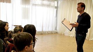 Ecole Paris Marais Stage cinéma ado : les outils cinéma