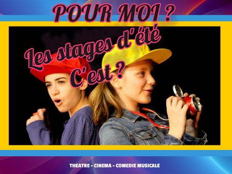 Mes stages ado théâtre, cinéma, comédie musicale de l'été… C'est demain au théâtre Espace Marais à P