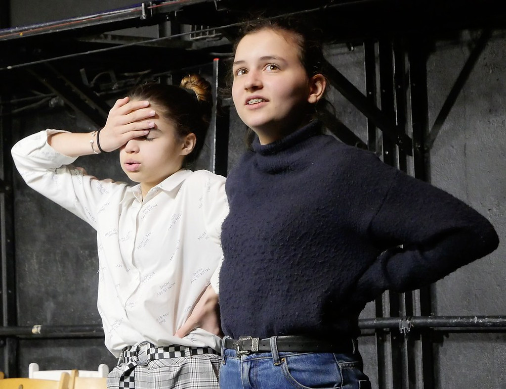 Portes Ouvertes de l'Ecole Paris Marais du 4/03/20 Section Théâtre 12/14 ans