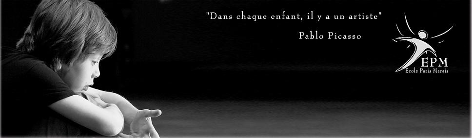Ecole Paris Marais-Cours Théâtre 8-10 ans