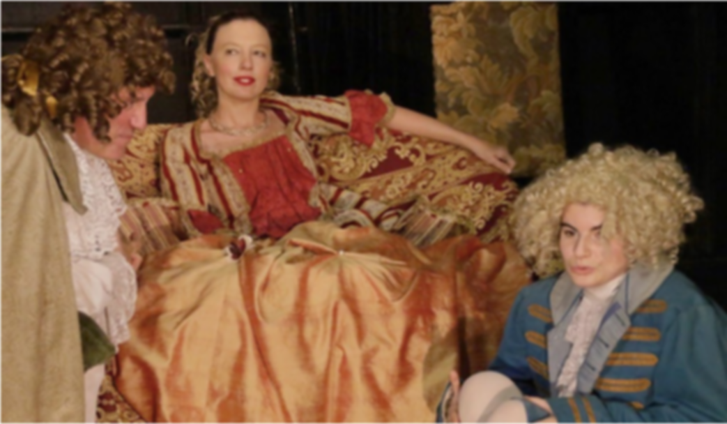 Ecole Paris Marais : cours de théâtre adulte avancé : De superbes costumes