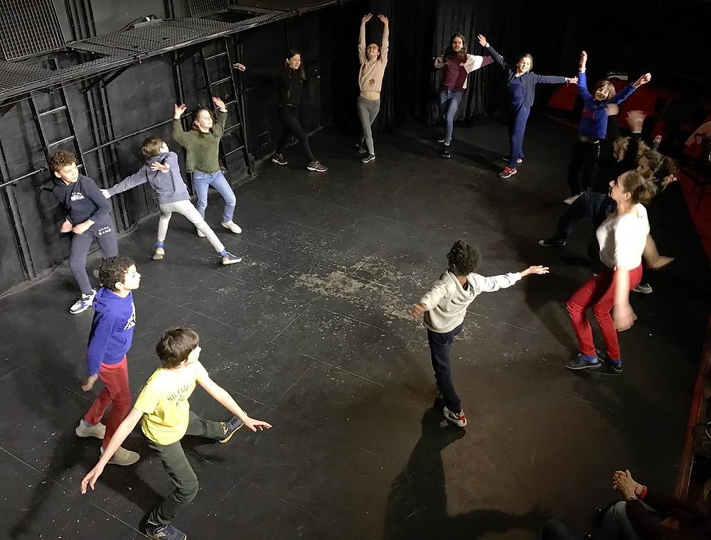 Portes Ouvertes de l'Ecole Paris Marais du 4/03/2020 Section Théâtre 10/12 ans.