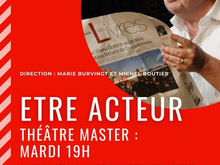 Les Master du mardi jouent sur scène au Théâtre Espace Marais