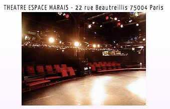 Ecole Paris Marais au Théâtre Espace Marais - Cours Théâtre 8-10 ans