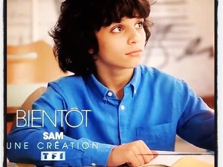 Rafael 12 ans élève de l'Ecole Paris Marais passe à la TV lundi 28 janvier dans un épisode de la