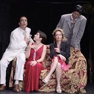 Ecole Paris Marais : cours de théâtre adulte avancé : costumes crées par l'Ecole Paris Mrais