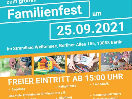 Herzliche Einladung zum großen Familienfest im Strandbad Weißensee