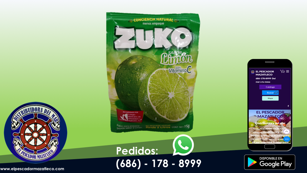 Zuko Limón 15 G
