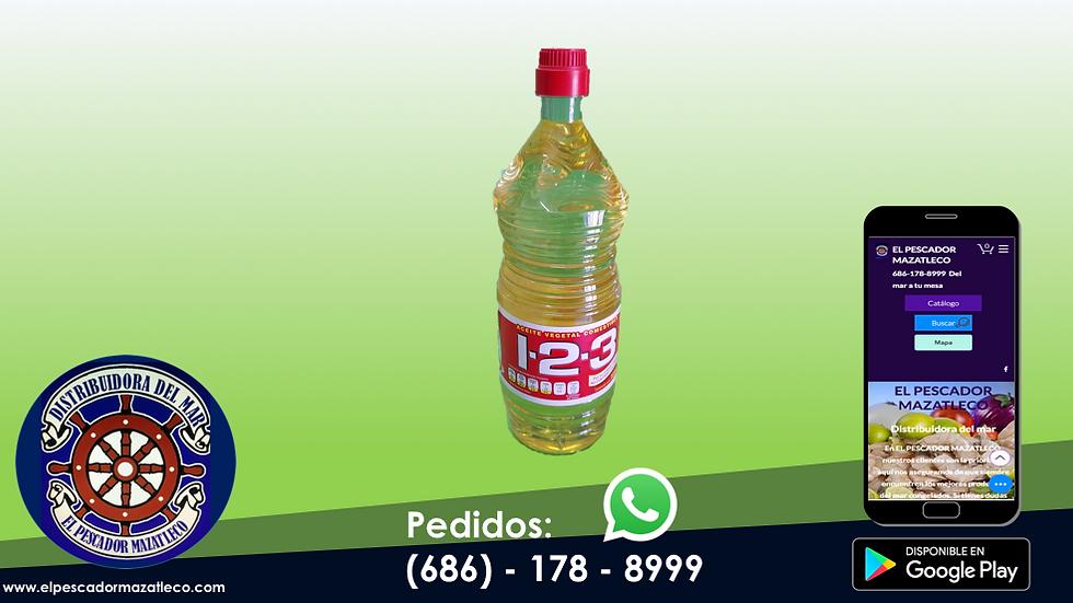 Aceite 1-2-3 1 L
