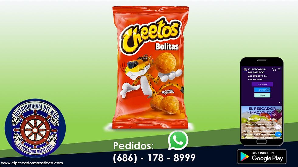 Cheetos Bolitas 45 G