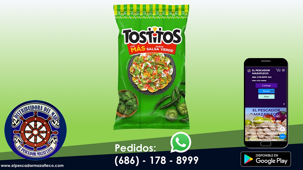 Tostitos Salsa Verde 180 G