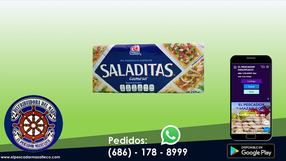 Galletas Saladas Gamesa 137 G