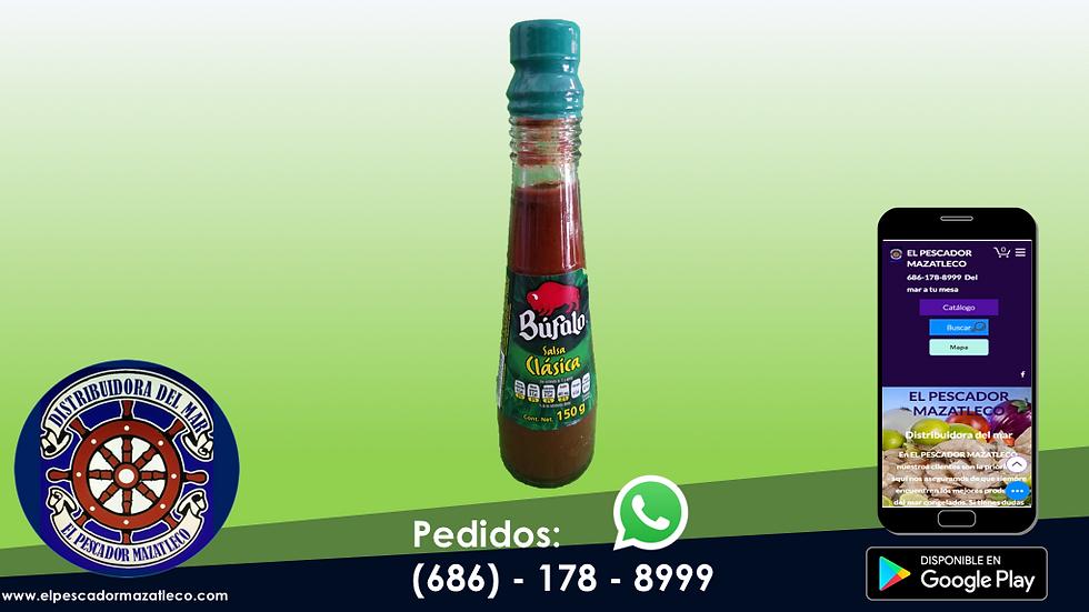 Salsa Búfalo Clasica 150 ML