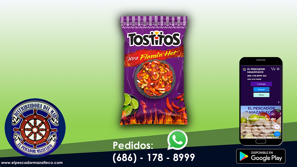 Tostitos Xtra Flamin hot 180 G