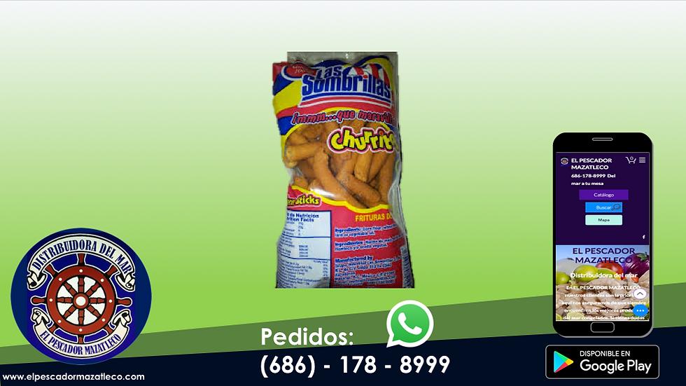 Churritos Las Sombrillas 112.5 G