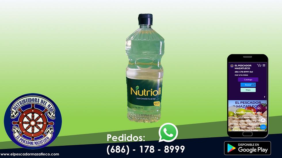 Aceite Nutrioli 946 ML