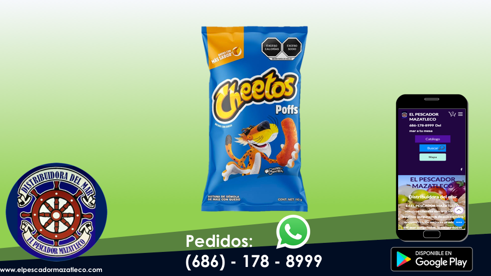 Cheetos Poffs 110 G