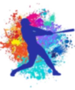 baseball silhouette with splatter.jpg