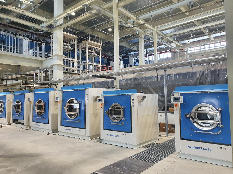 국내 최대 세탁공장