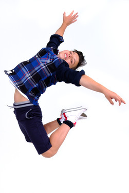 """Charlie Garton, publicity photo for San Diego Musical Theatre's 2017 Production of """"Billy Elliot"""""""