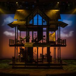 "Set design image, The Old Globe Theatre's 2016 Production of ""Rain""."