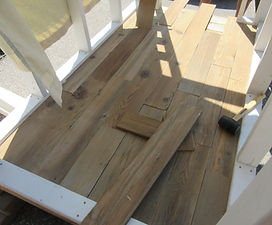 how to refinish wood floors, DIY floor restoration, how to sand floors,