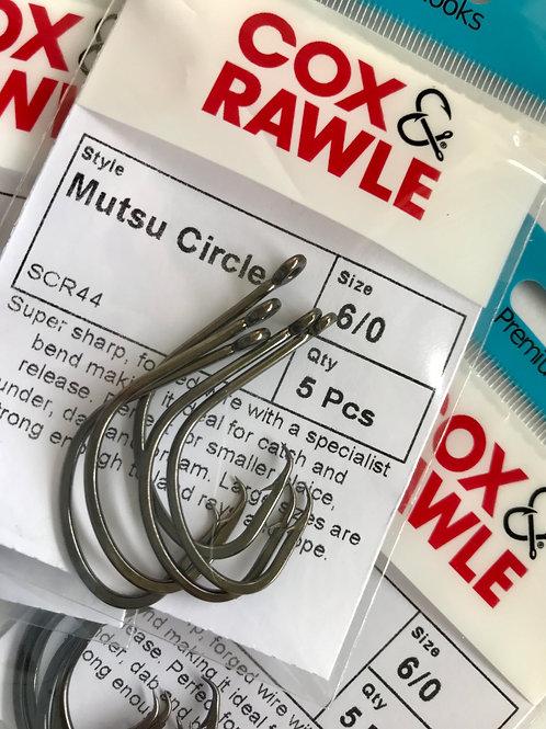 Mutsu Circle Hooks Size 2/0