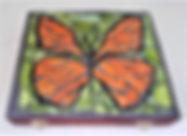 butterfly mosaic repurposed cigar box.jp