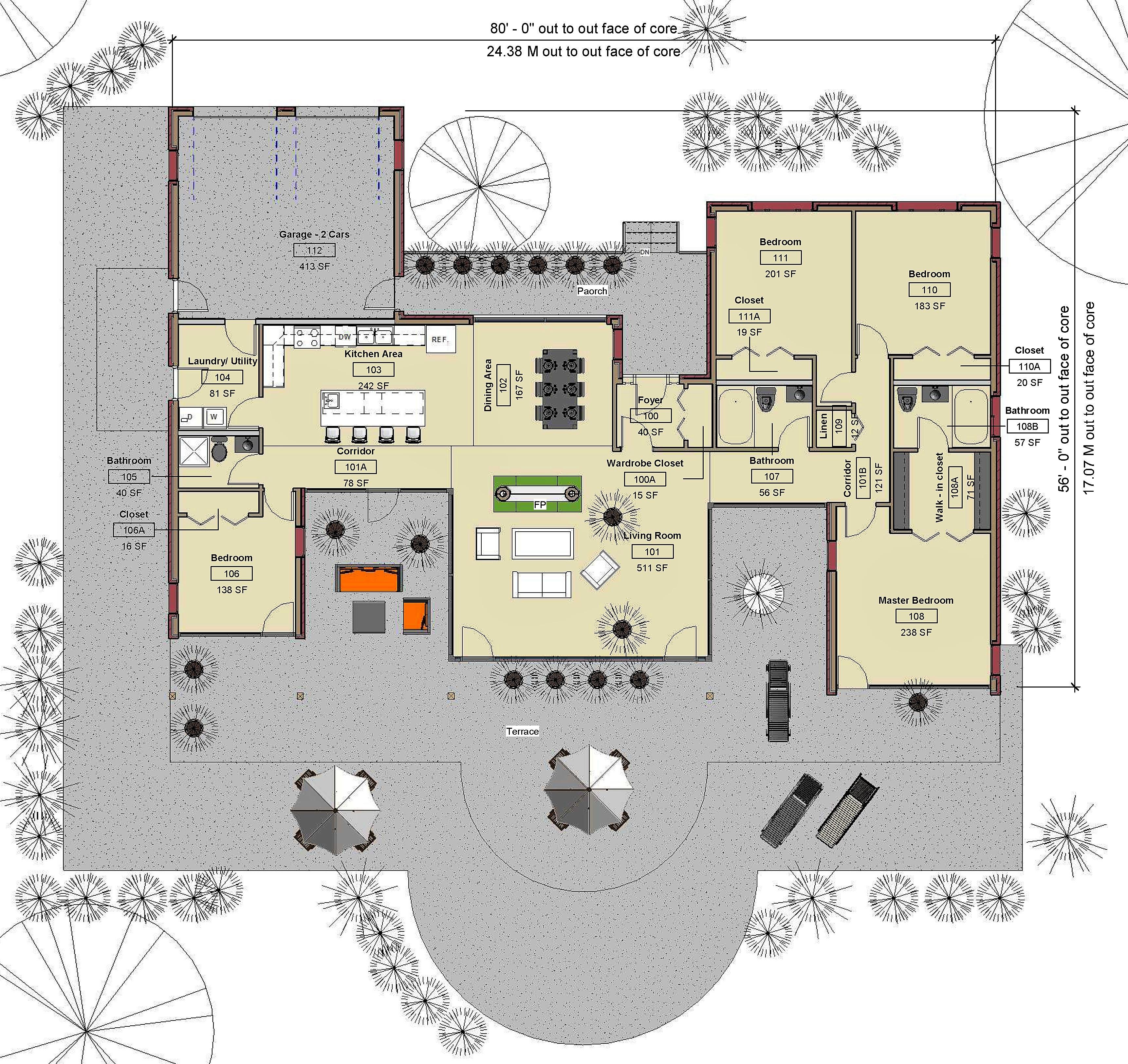Main Level - FloorPlan