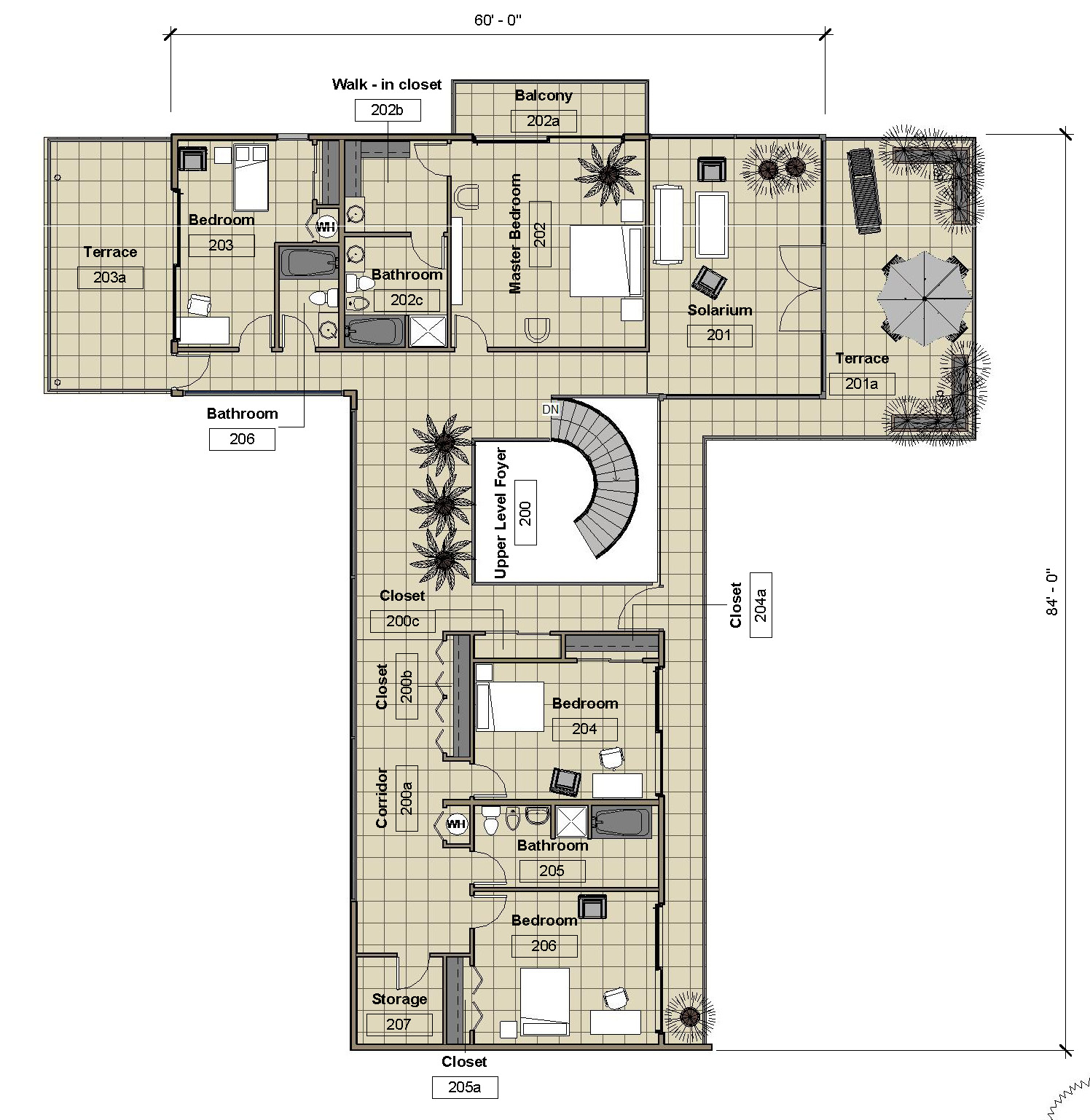 Upper Level - Floor Plan