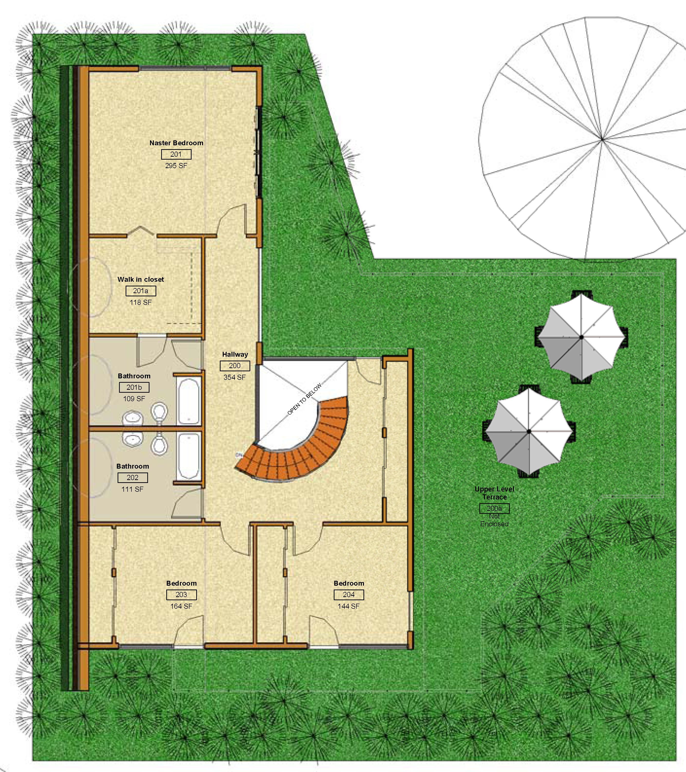 2nd Floor - Floor Plan