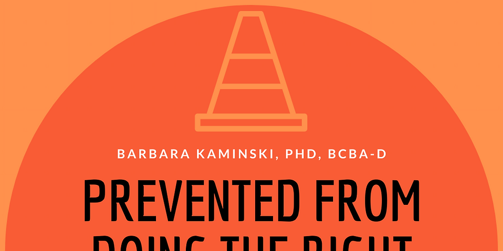 Ethics Series Part 1: Prevented from Doing the Right Thing? Adhering to the BACB Compliance Code