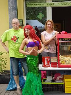 Popcornstand des Fördervereins